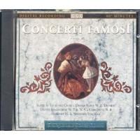 Concerti Famosi - Tchaikovsky/Dvorak/Brahms/Vivaldi/Mendelssohn Cd