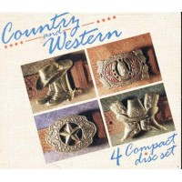 Country And Western - Johnny Cash/Willie Nelson 4X Cd