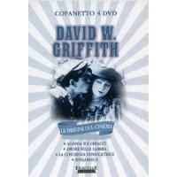 David W. Griffith Agonia Sui Ghiacci/Amore Sulle Labbra/Zingaresca 4X Dvd Sigill