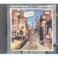 David Sanborn - Backstreet Cd