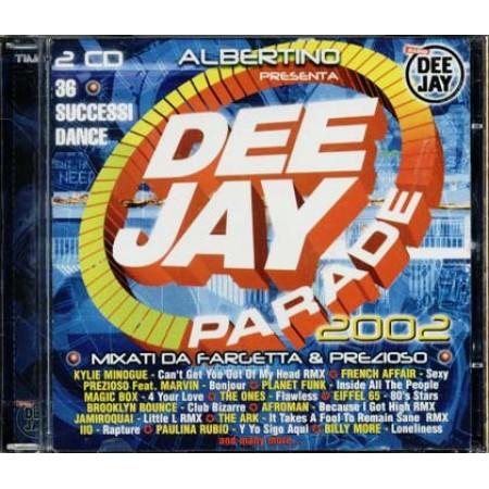 Deejay Parade 2002 - Eiffel 65/Prezioso/Gigi D'Agostino/Jamiroquai 2x Cd