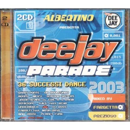 Deejay Parade 2003 - Scissor Sister/Moony/Royksopp 2x Cd