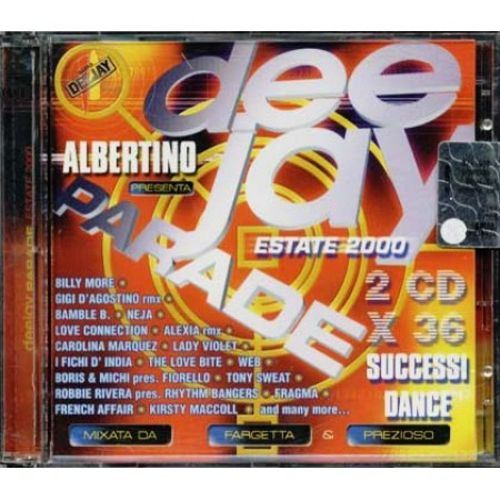 Deejay Parade Estate 2000 - Gigi D'Agostino/Fiorello/Lady Violet 2x Cd