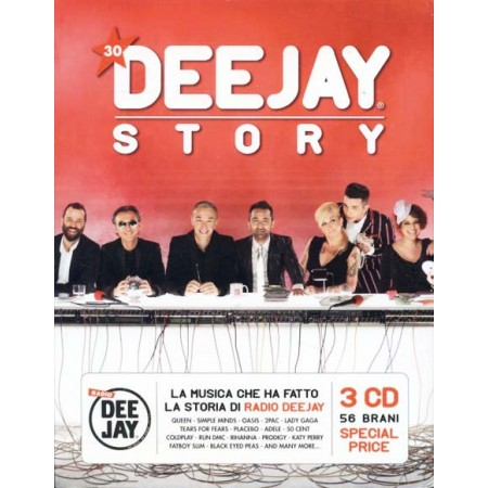 Deejay Story - Queen/Adele/Duran Duran/Lady Gaga/Take That Box 3X Cd