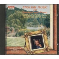Gervase De Peyer/Pryor - English Music For Clarinet And Piano Cd