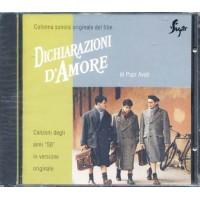 Dichiarazioni D'Amore - Quartetto Cetra/Martorana Cd