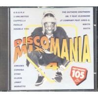 Discomania Mix 4 - Paraje/Usura/2 Unlimited/Corona Cd Cd