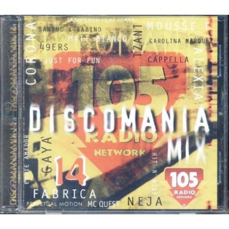 Discomania Mix 14 - Gaya/Neja/Cappella/Mousse T Cd