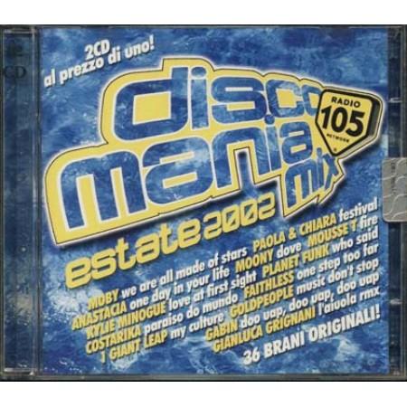 Discomania Mix Estate 2002 - Sash!/1 Giant Leap/Mousse T/Minogue Cd
