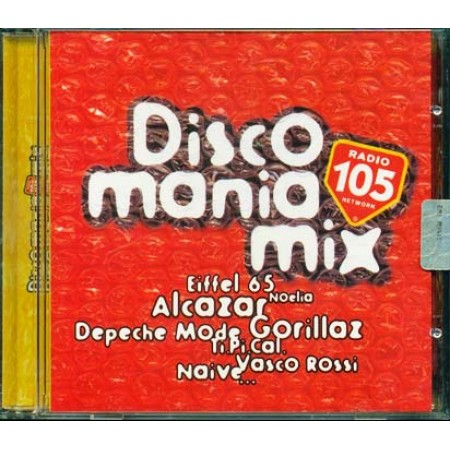 Discomania Mix 2001 - Vasco Rossi/Eiffel 65/Tipical/Planet Funk Cd