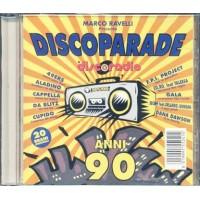 Discoparade Discoradio Anni 90 - Aladino/Cappella/Da Blitz/Molella/Usura Cd