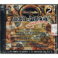 Discoradio All Hits Compilation + Poster E Cards D'Agostino/Tipical 2x Cd