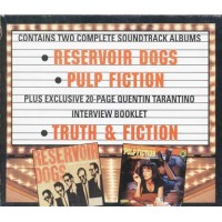 Double Feature Reservoir Dogs & Pulp Fiction + Book 2x Cd