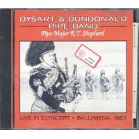 Dysart & Dundonald Pipe Band - Live In Concert Cd