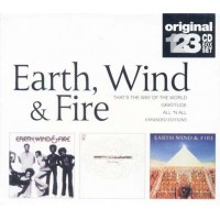 Earth Wind & Fire - That'S The Way Of The World/Gratitude/All 'N All Box 3X Cd