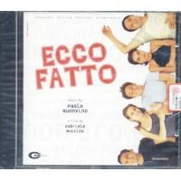 Ecco Fatto Ost - Paolo Buonvino/Isterika Cd