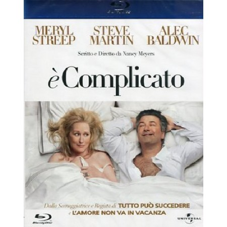E' Complicato  Meryl Streep/Alec Baldwin/Steve Martin Blu Ray