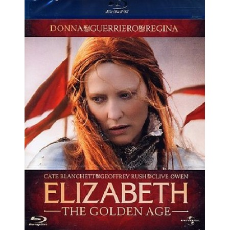 Elizabeth The Golden Age Cate Blanchett/Geoffrey Rush Blu Ray