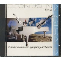 Elton John - Live In Australia West Germany Press Cd