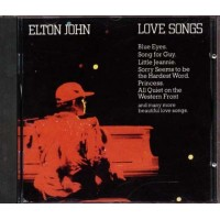 Elton John - Love Songs Old Press Cd