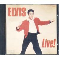 Elvis Presley - Live! (Pilz) Cd