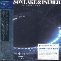 Emerson Lake & Palmer - In Concert Japan Press Shm Cd Cd