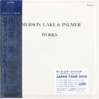 Emerson Lake & Palmer - Works Volume 2 Japan Press Shm Cd Cd