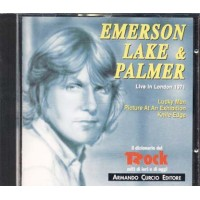 Emerson Lake & Palmer/Elp - Live In London 1971 Italy Promo Press Cd