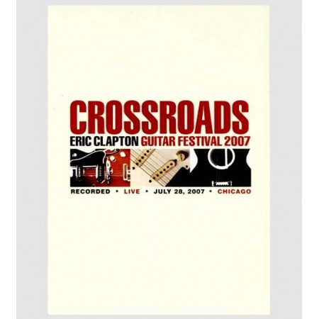 Eric Clapton Cross Roads Guitar Festival - Jeff Beck/Buddy Guy/B.B. King 2x Dvd