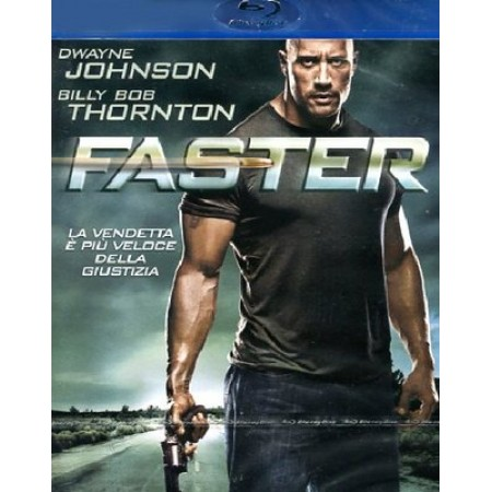 Faster - Dwayne Johnson/Billy Bob Thornton Blu Ray