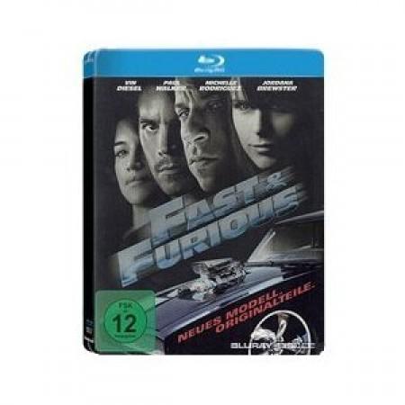 Fast & Furious Solo Parti Originali/Neues Modell Blu Ray Steelbook In Italiano