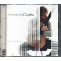 Fernando Osorio - Con Palabras Cd