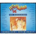 Festivalbar 1994 - Bose'/Pausini/Roxette/Jovanotti Box 2x Cd