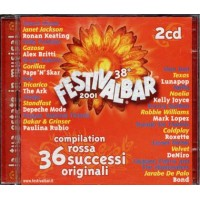 Festivalbar 2001 Red - Vasco/Depeche Mode/Bon Jovi/Coldplay 2x Cd