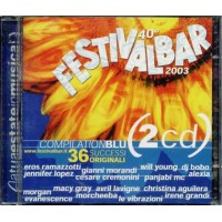 Festivalbar 2003 Blu - Morgan/Evanescence/Lavigne/Cremonini 2x Cd