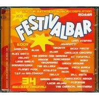 Festivalbar 2005 Red - The Killers/Elisa/Moby/Planet Funk/Jovanotti 2x Cd