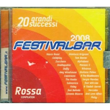 Festivalbar 2008 Red - Vasco/Coldplay/Zucchero/Subsonica Cd