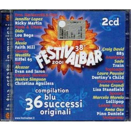 Festivalbar 2001 Blu - Eiffel 65/883/Oxa/Pausini 2x Cd