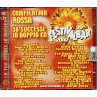 Festivalbar 2002 Red - Moby/Zucchero/Planet Funk/Antonacci 2x Cd