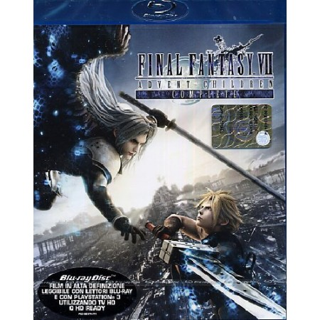 Final Fantasy Advent Children Complete Blu Ray