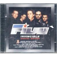 Five - Invincible Special Edition Bonus Cd Cd