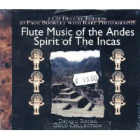 Flute Music Of The Andes/Spirit Of Incas Box 2x Cd