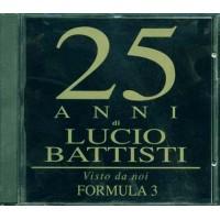 Formula 3 - 25 Anni Di Lucio Battisti Visto Da Noi Cd