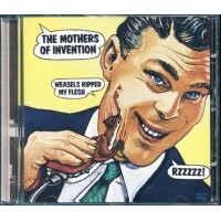 Frank Zappa & Mothers Of Invention - Weasels Ripped My Flesh Green cd