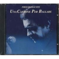 Fred Bongusto - Una Canzone Per Ballare No Barcode Cd