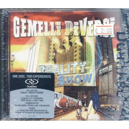 Gemelli Diversi - Reality Show Dual Disc Surround 5.1 Dvd + Cd
