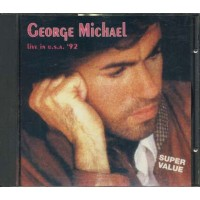 George Michael - Live In Usa 92 Cd