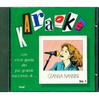 Gianna Nannini - Karaoke Vol. 1 Cd
