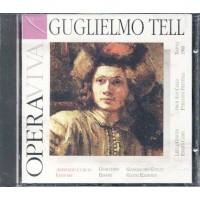 Gioachino Rossini - Guglielmo Tell 64 Pp Lyrics Book + Cd