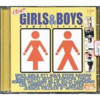 Girls & Boys - Robbie Williams/Spice Girls/Aqua Cd